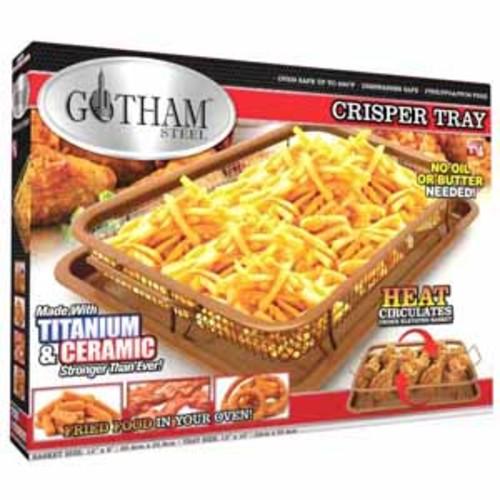 Gotham Steel Crisper Titanium & Ceramic Pan