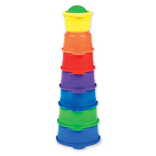 Munchkin Caterpillar Spillers Stacking Cups - Colors May Vary