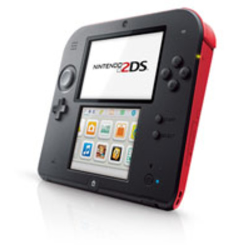 Nintendo 2DS System - Red