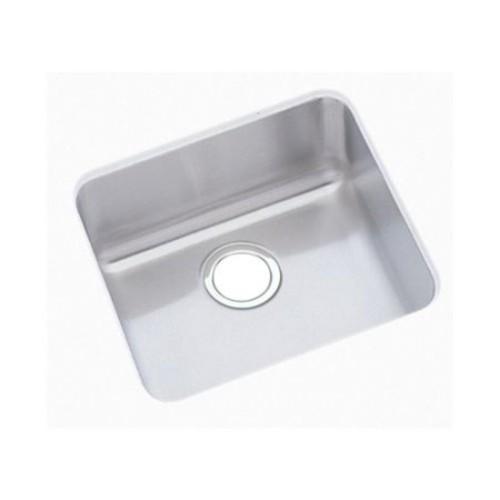 Elkay ELUHAD141455 Lustertone Stainless Steel Single Bowl Undermount Sink