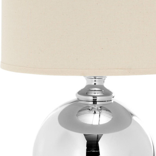 Indoor 1-light Glass Sphere Table Lamp