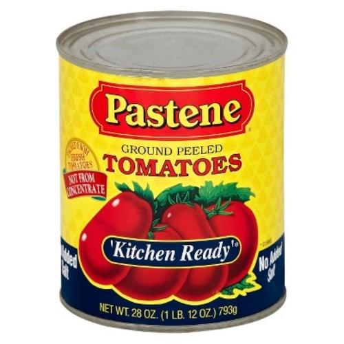 Pastene Ground Peeled Tomatoes No Added Salt 28 oz