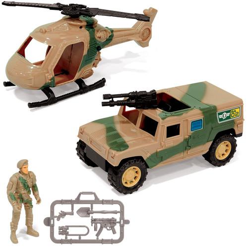 Just Kidz Military Playset