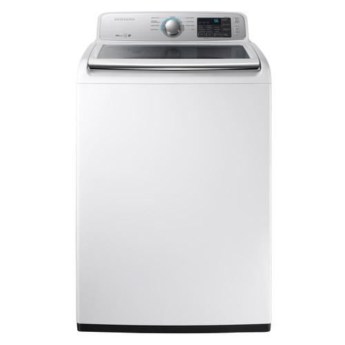 Samsung 4.5 cu. ft. High-Efficiency Top Load Washer in White, ENERGY STAR