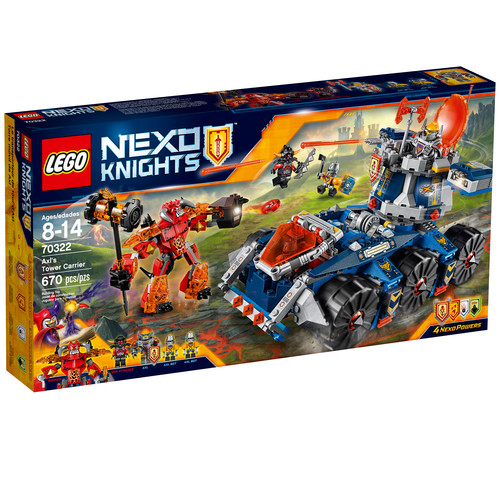 LEGO Nexo Knights Axl's Tower Carrier (70322)
