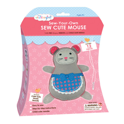 My Studio Girl Sew-Your-Own Sew Cute - Mouse