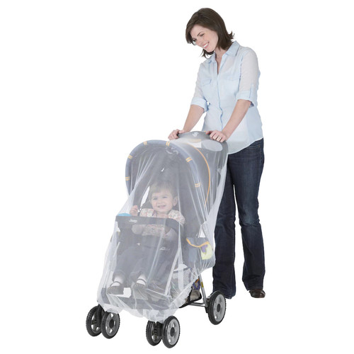 J is for Jeep Mosquito Net for Baby Standard Strollers and Carriers, White, Universal Size, Bug Cover, Weather... [1]