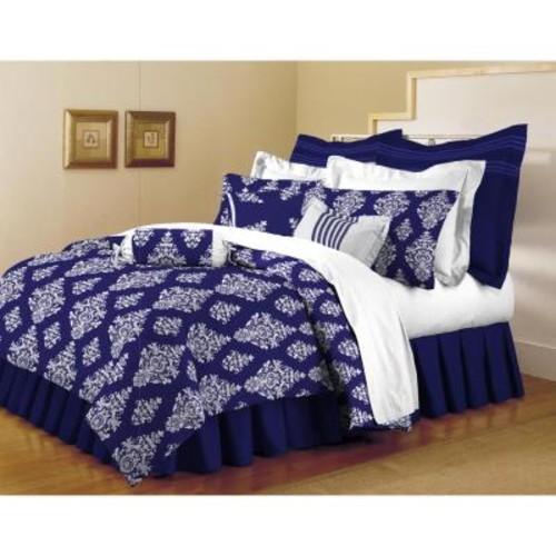 Home Dynamix Classic Trends Indigo 5-Piece King Comforter Set