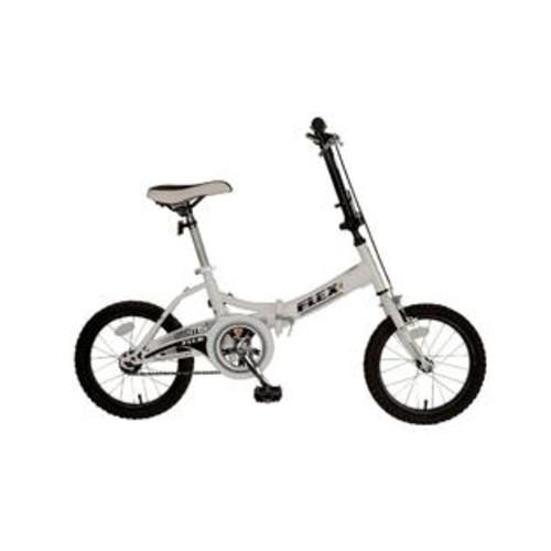 Mantis Flex 16 Folding Bicycle (White - 16 inch X 11 inch)