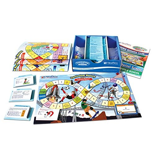 Path Learning Middle School Physical Science Curriculum Mastery Game, Grade 5-9, Class Pack