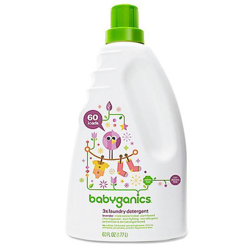 Babyganics 60 oz. Lavender 3x Laundry Detergent