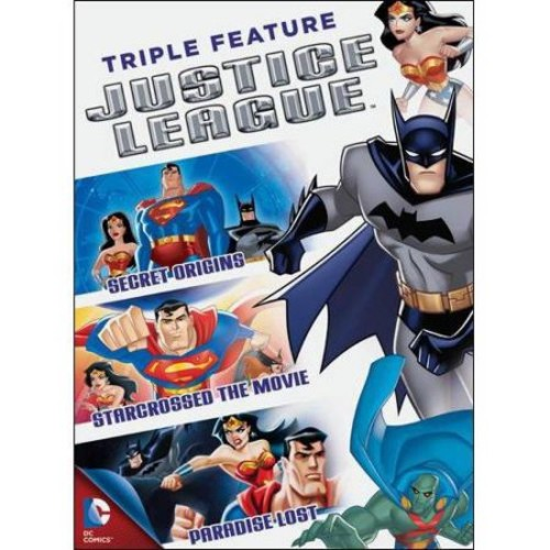Justice League Triple Feature: Secret Origins / Starcrossed The Movie / Paradise Lost (Full Frame)