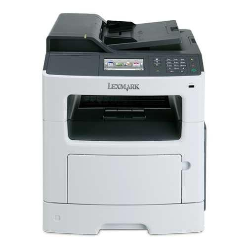 Lexmark MX410DE Mono Laser Multifunction Printer with Networking & Duplex - Print up to 40 ppm, Copy, Scan, Fax, 250-she