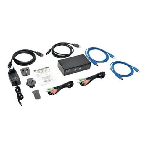Tripp Lite B004-DPUA2-K 2 Port DisplayPort KVM Switch