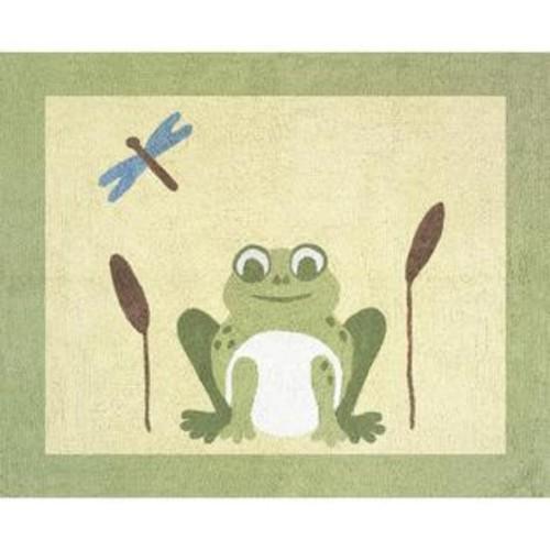 Sweet Jojo Designs Leap Frog Cotton Floor Rug