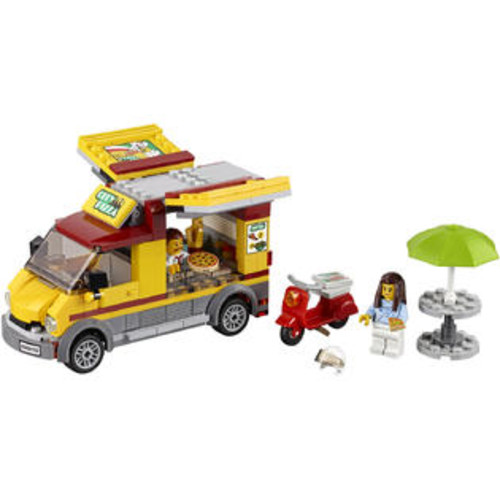 LEGO City Great Vehicles Pizza Van (60150)