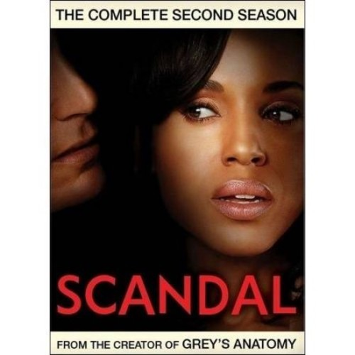 Scandal: The Complete Second Season [5 Discs] [DVD]