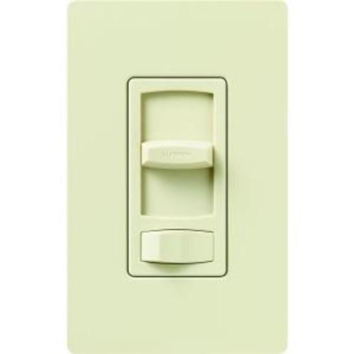 Lutron Skylark Contour 150-Watt Single-Pole/3-Way Preset CFL-LED Dimmer - Almond