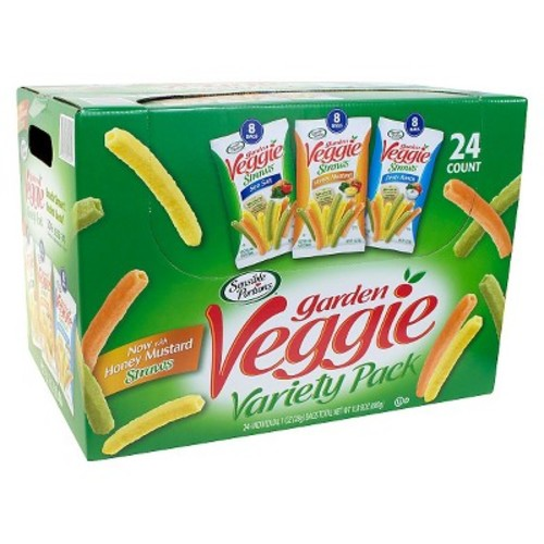 Sensible Portions Garden Veggie Snack Size Variety Pack 24 ct