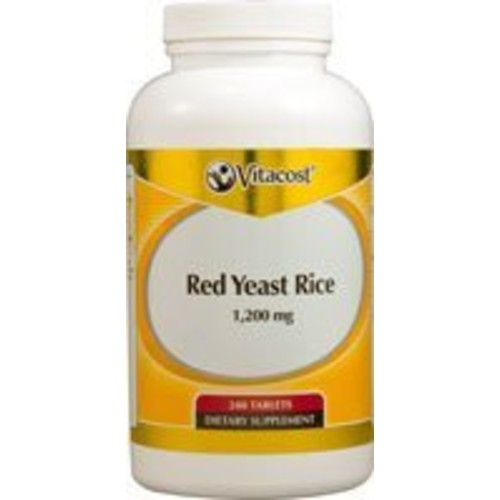 Vitacost Red Yeast Rice -- 1200 mg - 240 Tablets