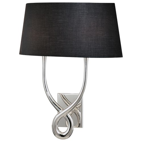 George Kovacs 2-Light Silver Plated Wall Sconce