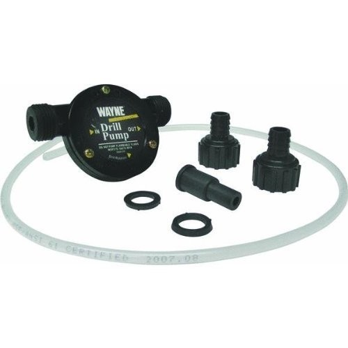 WAYNE DPFTK1 Light Duty Drill Mounted Water Transfer Pump Kit