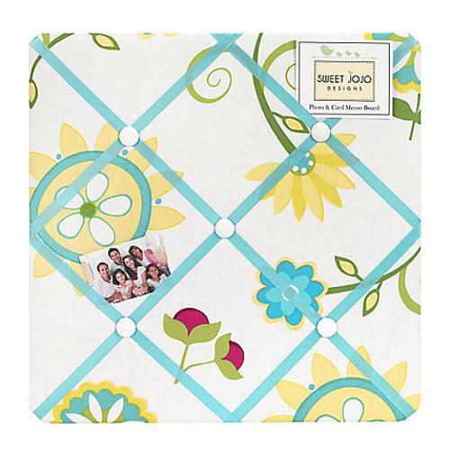Sweet Jojo Designs Layla Fabric Memo Board