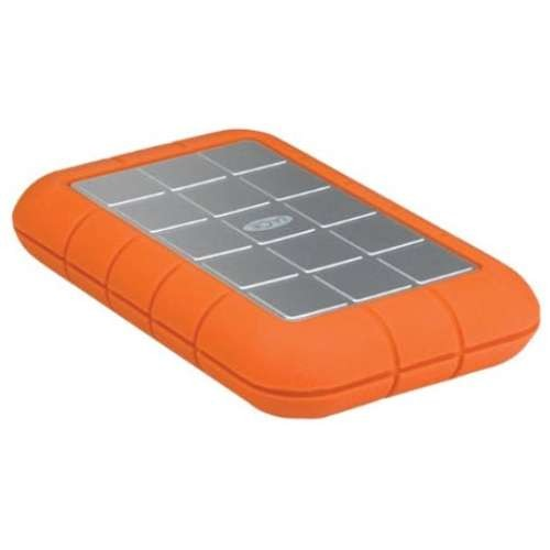 LaCie Rugged Triple External Hard Drive - 1TB, Portable, FireWire 800 / USB 3.0, 5400RPM, 256-bit AES, LaCie Backup Assistant, LaCie Private-Public - STEU1000400