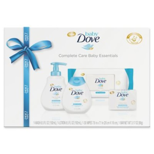 Baby Dove 4-Piece Complete Care Baby Essentials Gift Set