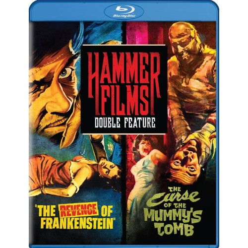 Hammer Films Double Feature: The Revenge of Frankenstein/The Curse of the Mummy's Tomb [Blu-ray]