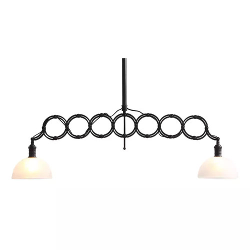 Zuo Modern Jade Ceiling Lamp - Antique Black G