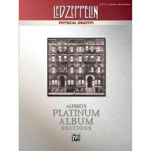 Led Zeppelin -- Physical Graffiti Platinum Guitar: Authentic Guitar TAB (Alfred's Platinum Album Editions)