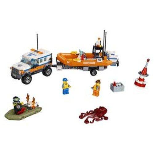 LEGO City Coast Guard 4 x 4 Response Unit (60165)