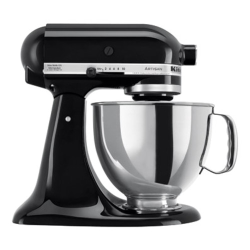 KitchenAid Artisan Series 5-Quart Tilt-Head Stand Mixer, Onyx Black