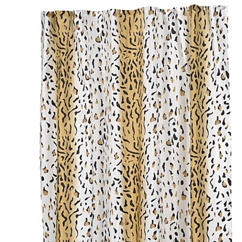 Carnation Home Fashions Hailey 70-Inch x 84-Inch Shower Curtain