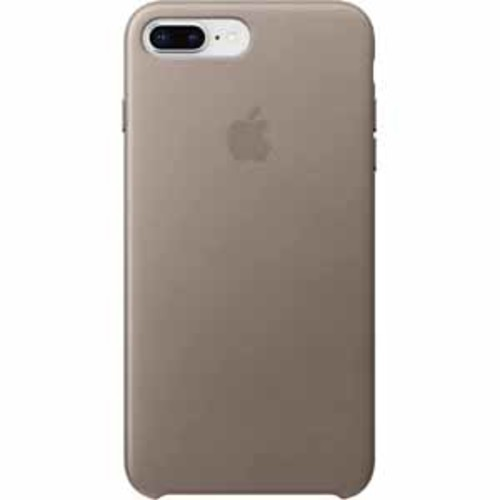 Apple Leather Case for iPhone 8 Plus/7 Plus - Taupe