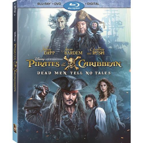 Pirates of the Caribbean: Dead Men Tell No Tales (Blu-ray / DVD / Digital)