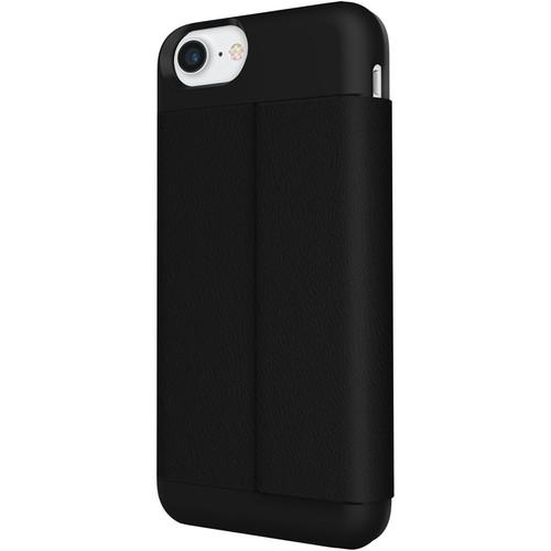 Incipio - Wallet Folio Case for Apple iPhone 7 - Black