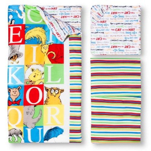 Dr. Seuss by Trend Lab 3pc Crib Bedding Set  Alphabet Seuss