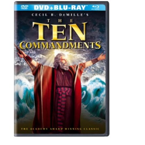 Ten Commandments (1956) (DVD/Blu-ray)