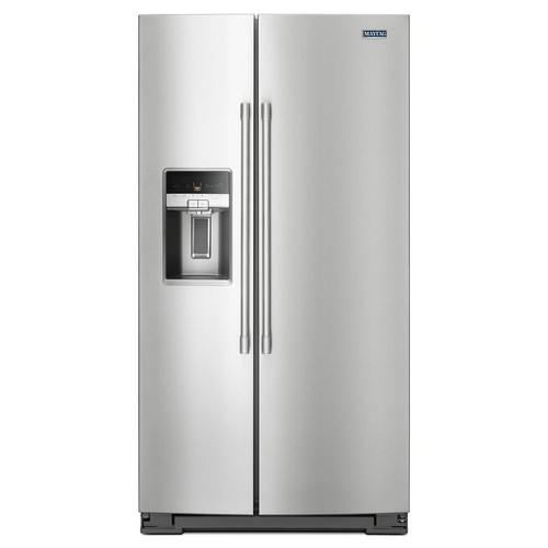 Maytag 36 in. W 26 cu. ft. Side by Side Refrigerator in Fingerprint Resistant Stainless Steel