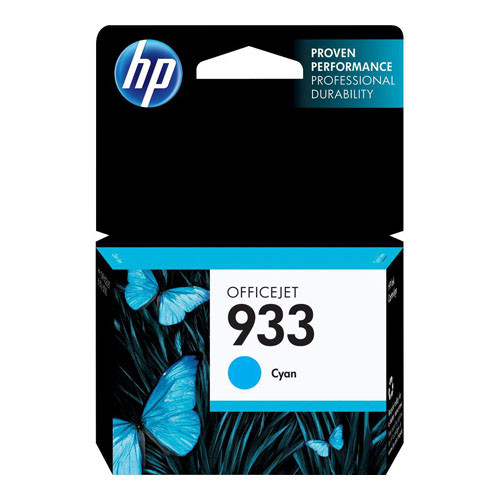 HP Officejet 933 Series Cyan Original Printer Ink Cartridge