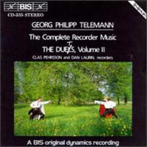 Telemann: The Complete Recorder Music, Vol. 2 - The Duets (Audio CD)