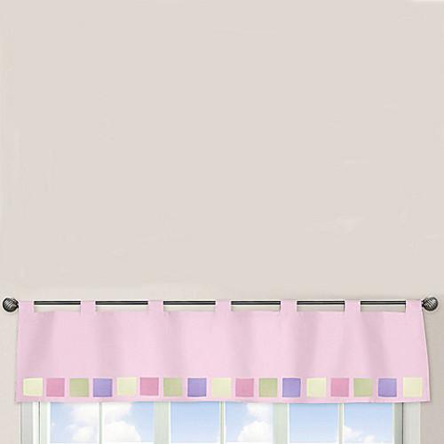 Sweet Jojo Designs Butterfly Window Valance in Pink/Purple