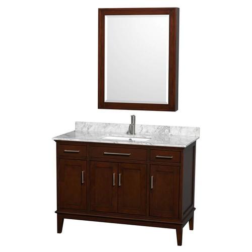 Hatton Collection 48 in Single Bathroom Vanity in Dark Chestnut [WCV161648SCDCXSXXMXX]