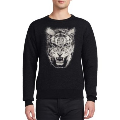 SAINT LAURENT Graphic Printed Pullover