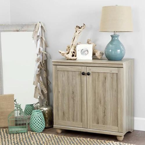 South Shore Furniture Bookshelves & Bookcases South Shore Hopedale 2-door Storage Cabinet [Finish : Oak Finish]