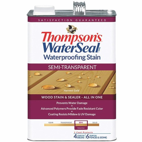 Thompson's WaterSeal Thompsons WaterSeal Semi-Transparent Waterproofing Stain - TH-042811-16