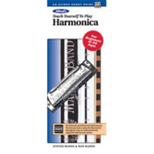 Alfred Teach Yourself to Play Harmonica - Music Book(ALFRD38423)