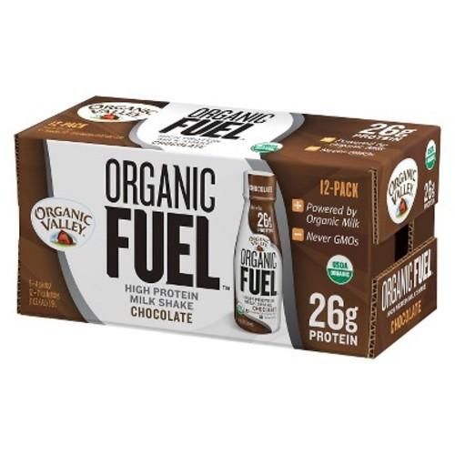 Organic Valley FUEL Milk Protein Shake - Chocolate - 11oz/12ct